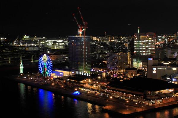 ポートタワーからの夜景(ND4編)