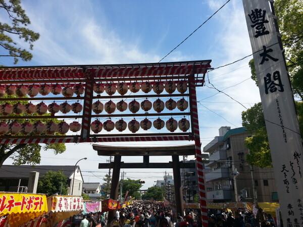 【5月】太閤祭り