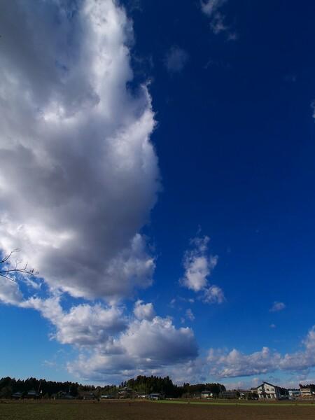 青空と雲と・・・