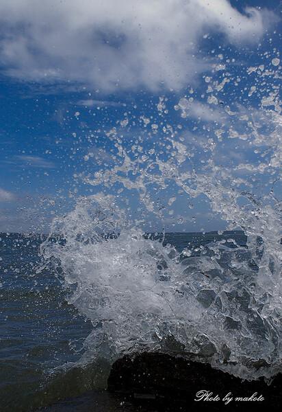 し、潮水がっ!