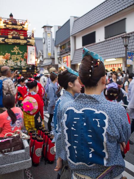 成田祇園祭始まる