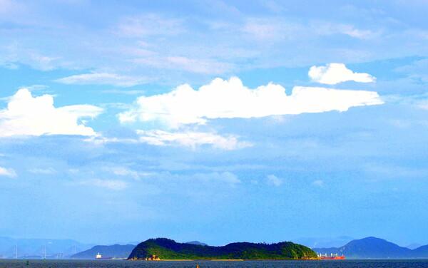 【天】瀬戸内海の空