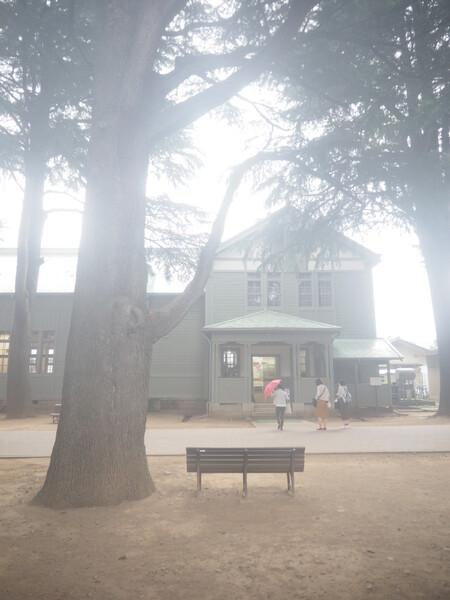 旧制松本高等学校・講堂1
