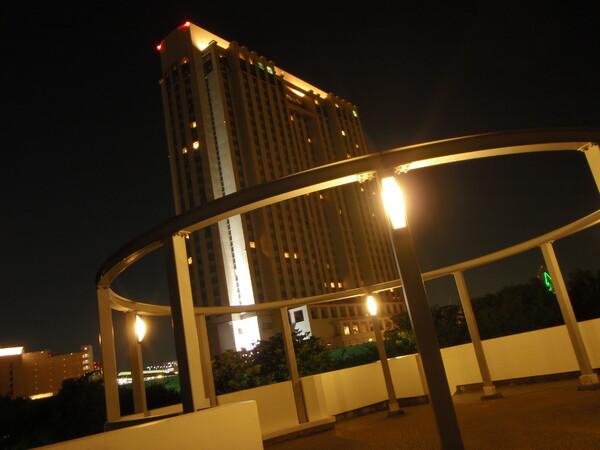 意外ときれいな夜景モード