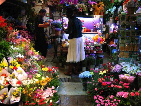 23時のお花屋さん