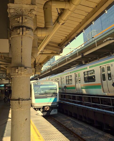 東京駅100年前の柱