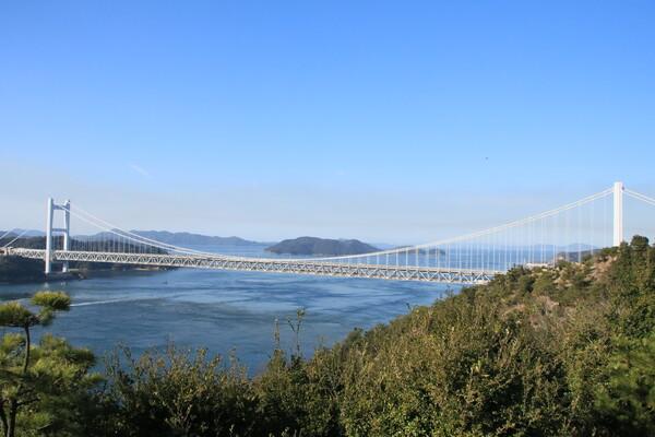 瀬戸大橋と瀬戸のコラボ
