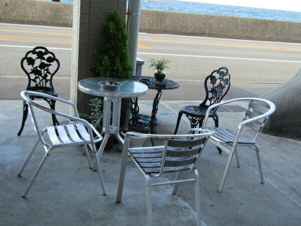 鳴門海峡が見えるレストラン