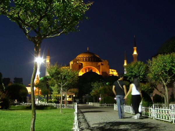 夕闇のモスク