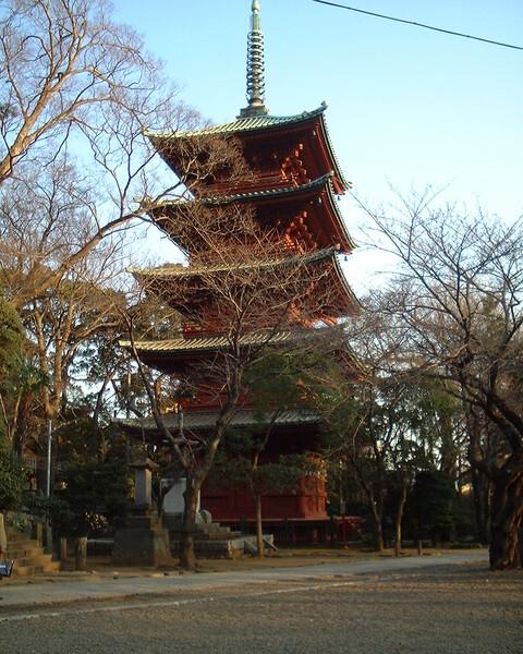 中山法華経寺 五重の塔