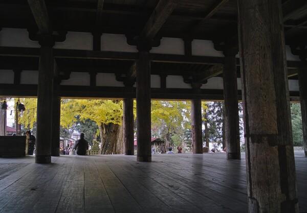 会津 新宮熊野神社にて
