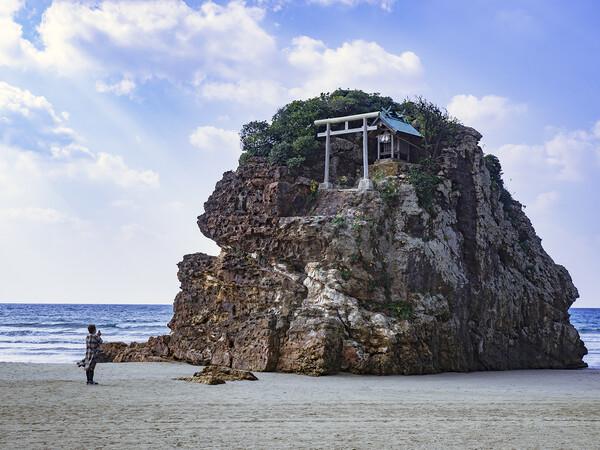 【形】稲佐の浜