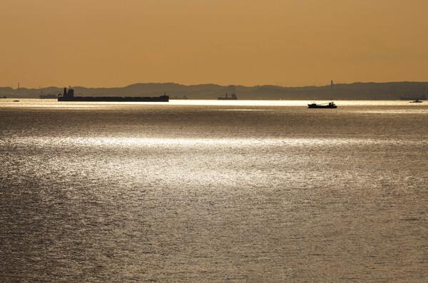 【光】輝く海