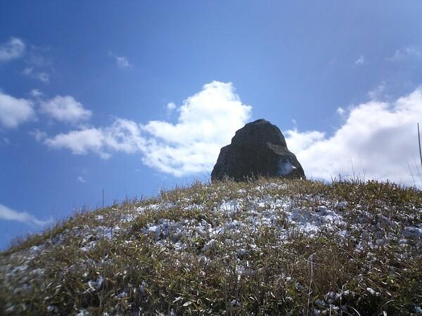 早春の雪景色