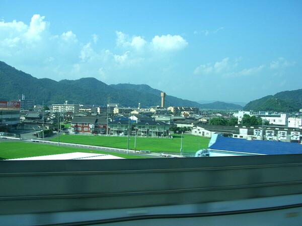 山陽新幹線車窓風景