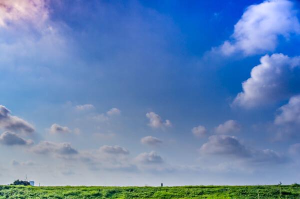 今日の朝の雲