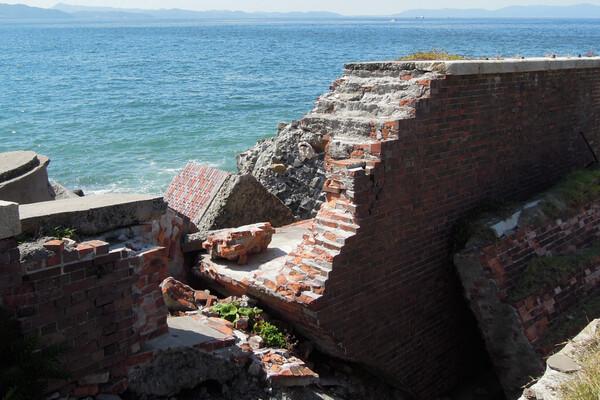 友ヶ島第二砲台施設跡