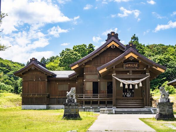 【解放感】居多神社(こたじんじゃ)