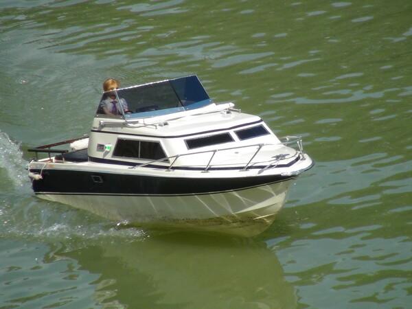 ラジコン ボート