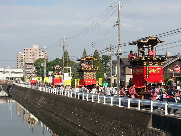 【秋】祭り
