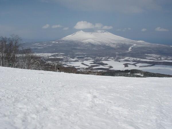 春スキーにて