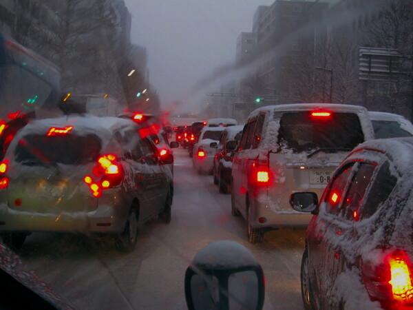 仙台も大雪