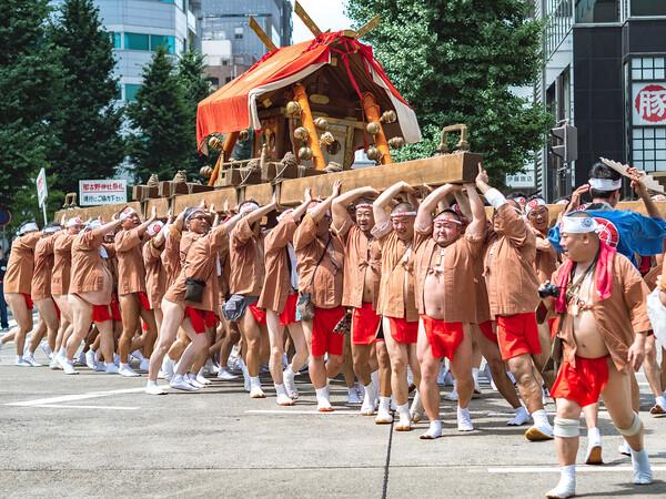 那古野神社天王祭(神輿渡御)
