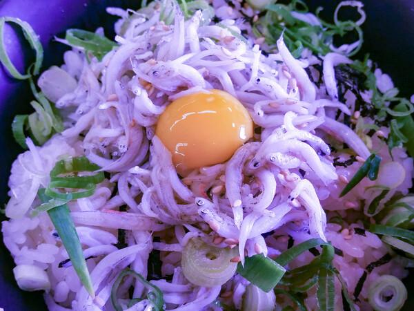 【Purple】 しらす丼