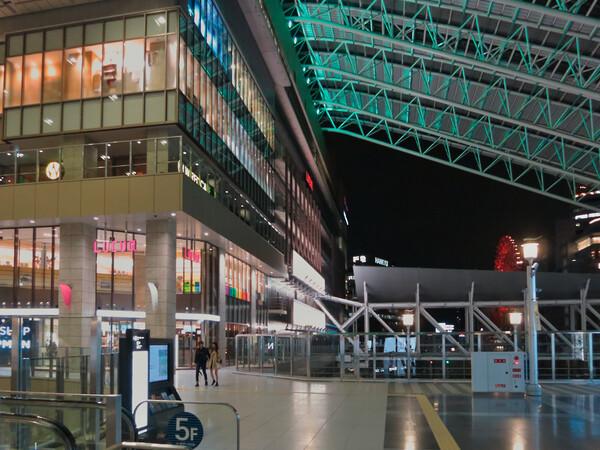 大阪ステーションシティにて