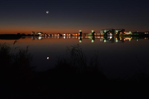 大晦日の細月