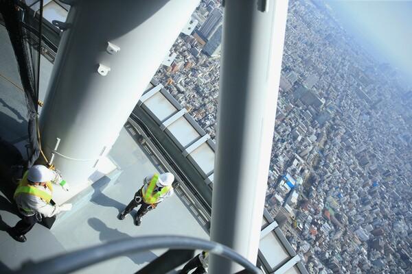 【開放感】地上490メートル