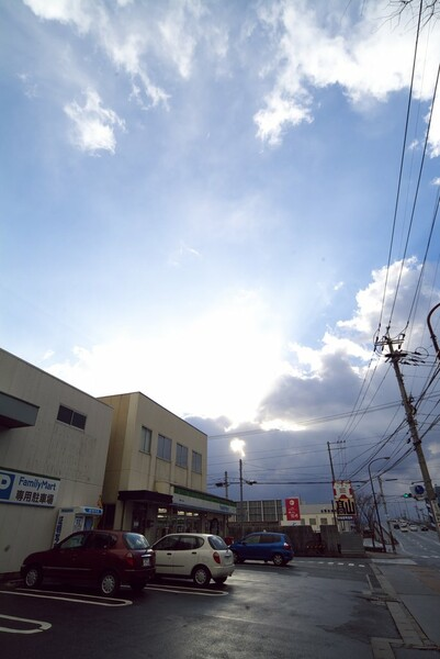 【陽光】雪・青・雪