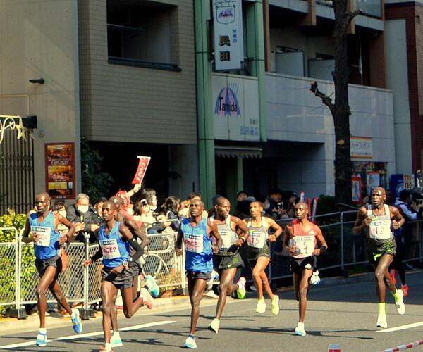 東京マラソン2017 15K