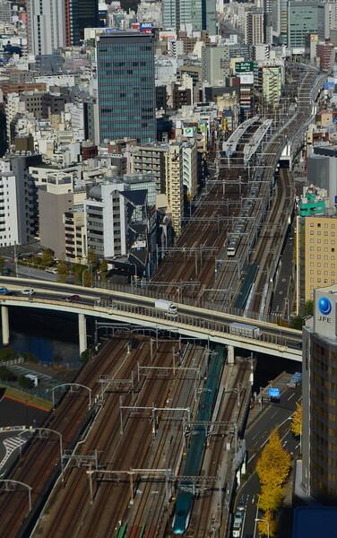 上野東京ライン俯瞰