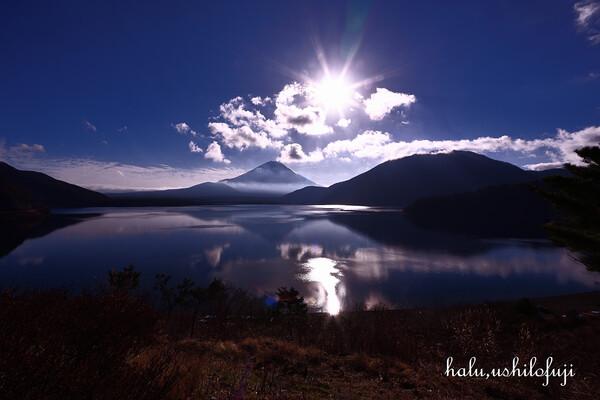 本栖湖の写真