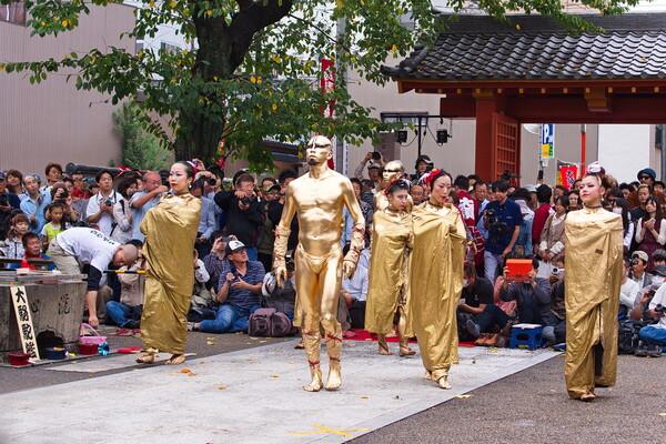 【秋色】大須大道町人祭