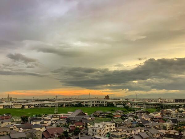 【夏】今日の夕景