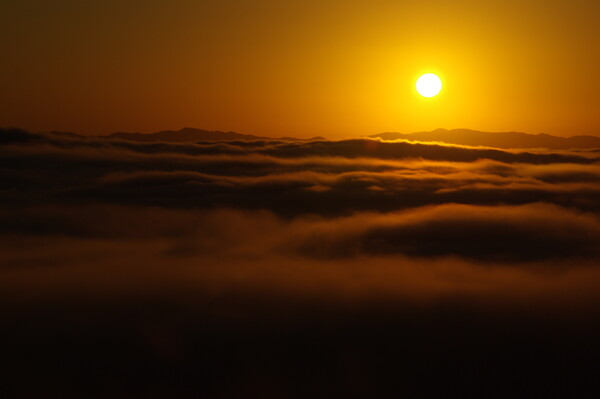 雲海と日の出