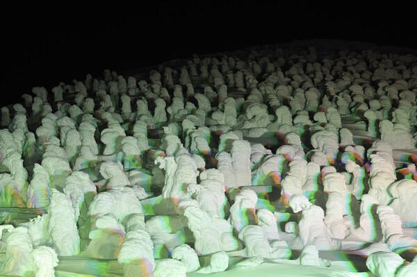 蔵王 樹氷ライトアップ