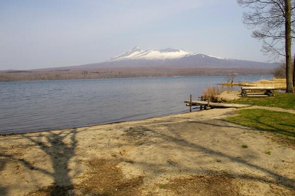 駒ヶ岳と大沼