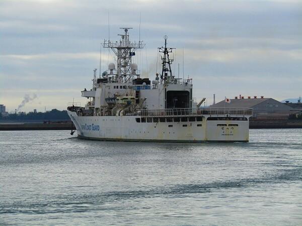 海上保安庁のトップガンが出港です