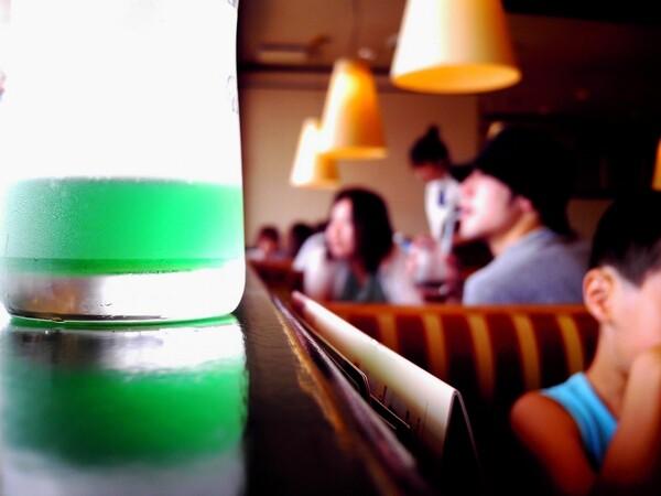 【淡】ソーダ水の午後