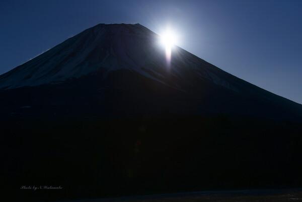 富士に輝く