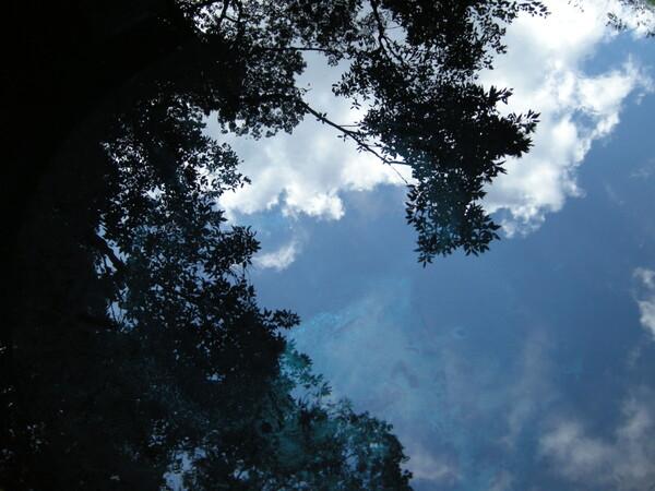 空の青、水の碧