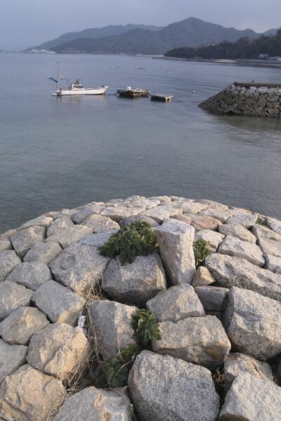 花崗岩の海岸