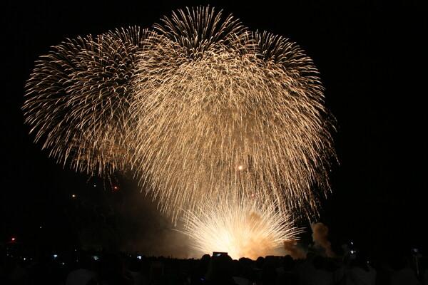 新潟県柏崎の花火