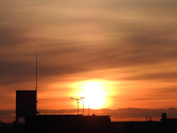美しきかな朝陽