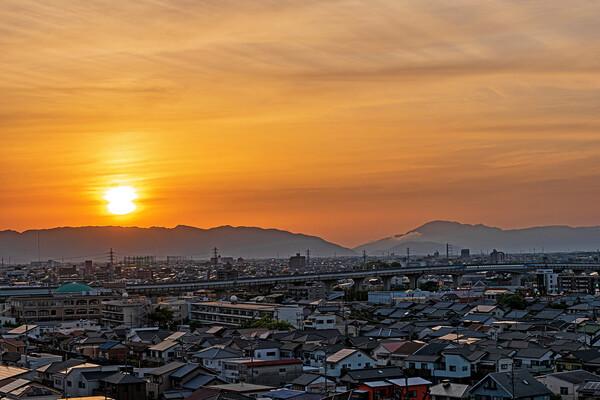 【自粛】5/17夕陽18:35