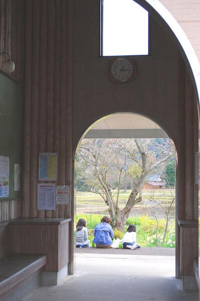 【淡彩】 驛舎