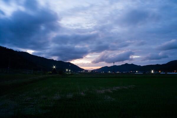 日没の頃・・。